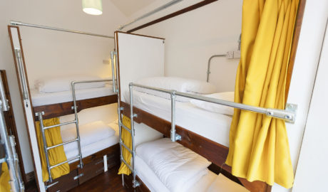 Dorm room with Pod Beds